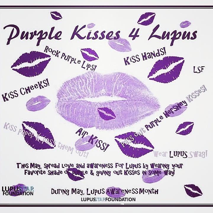 Purple Kisses 4 Lupus