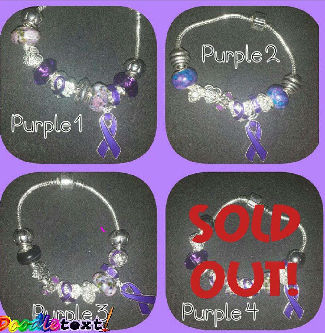 Lupus Hope Awareness Bracelets